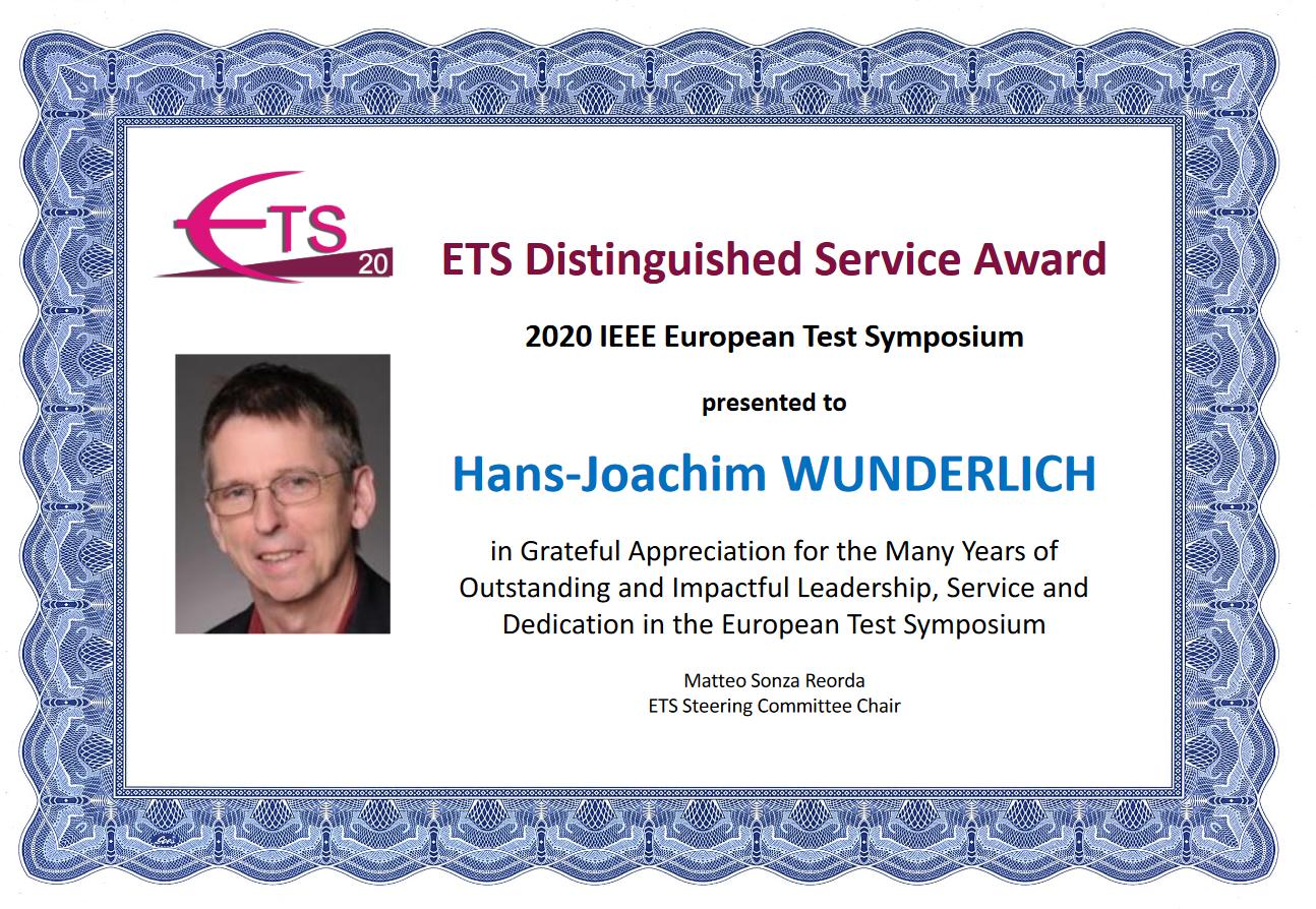 ETS Distinguished Service Award
